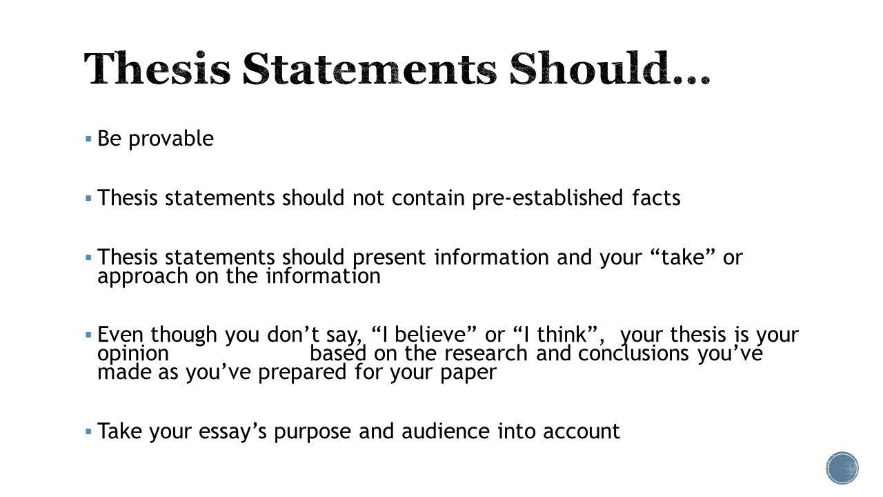 embedded assessment two 61607 most important sentence in your essay 4