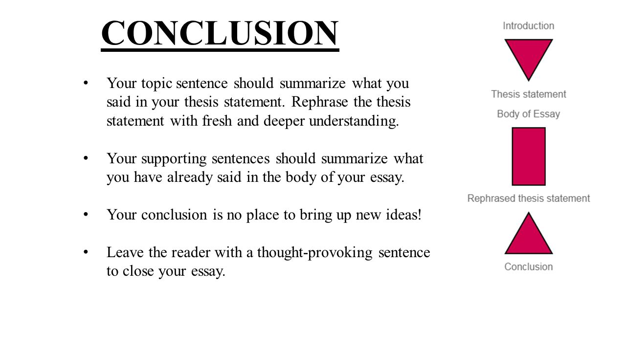 How Do I Compose A Strong Thesis Statement For My Informational   According