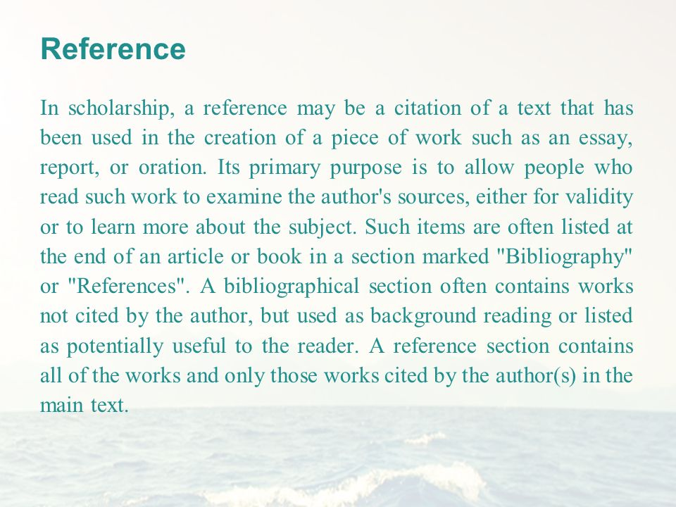 What's a Bibliography? - Plagiarismorg