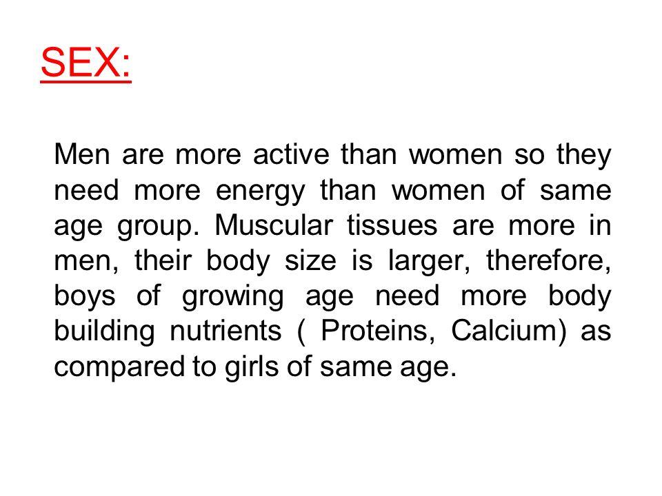 Do men need sex more then women?