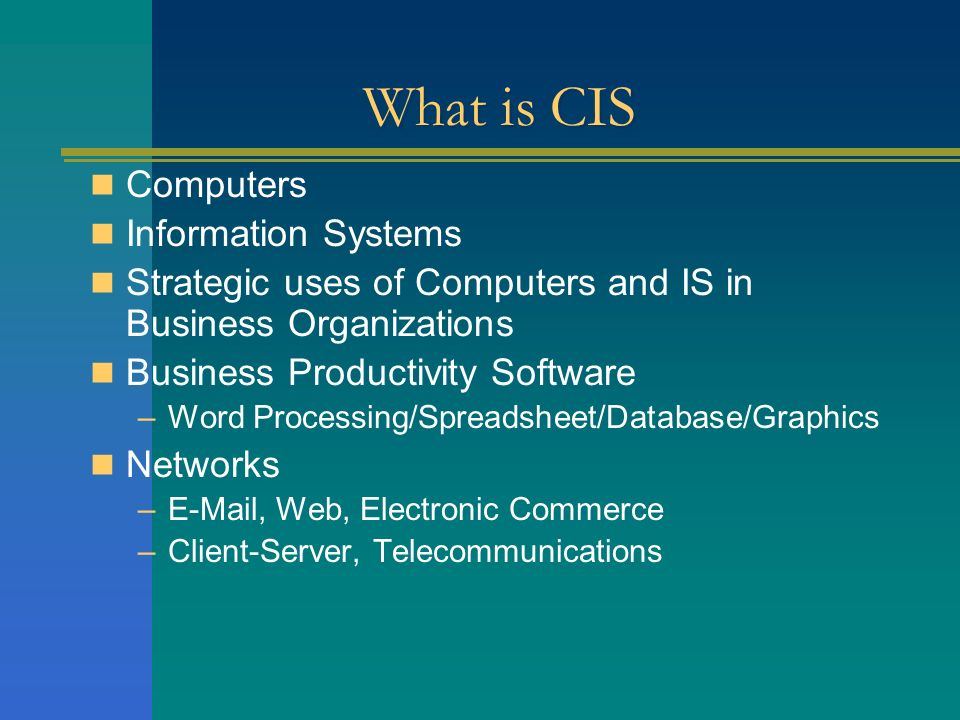 computerized information system One of the most important advantages of a computerized system is it saves time for businesses other advantages include automation, accuracy, cost-effectiveness and.
