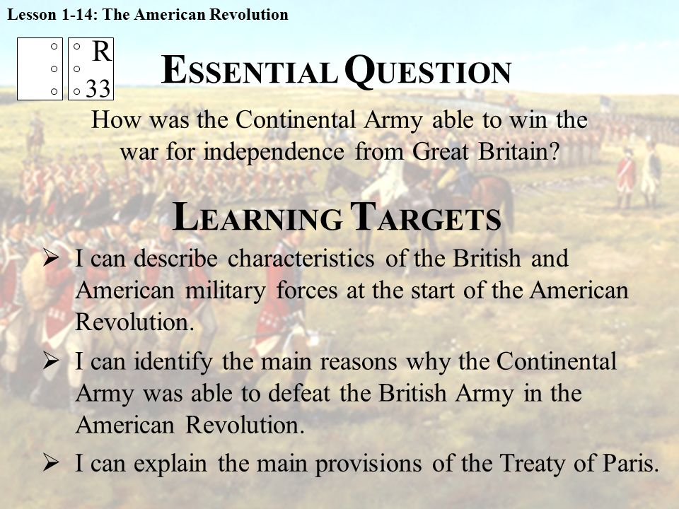 the main reason why the british