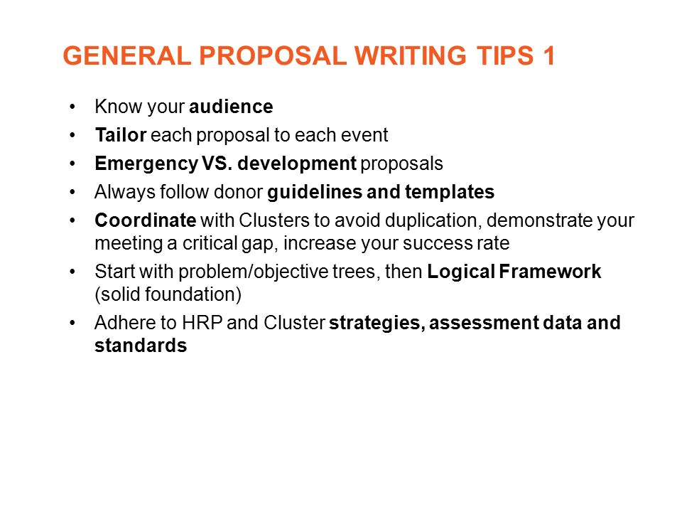 Proposal and report writing – Formal Report Template