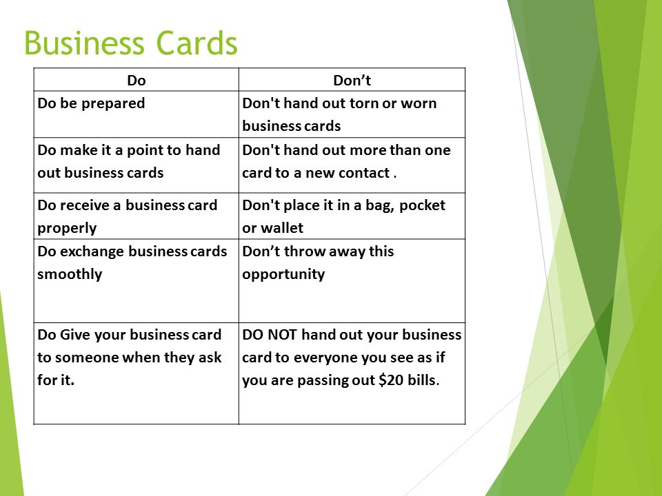 Generous How To Hand Out Business Cards Images - Business Card Ideas ...