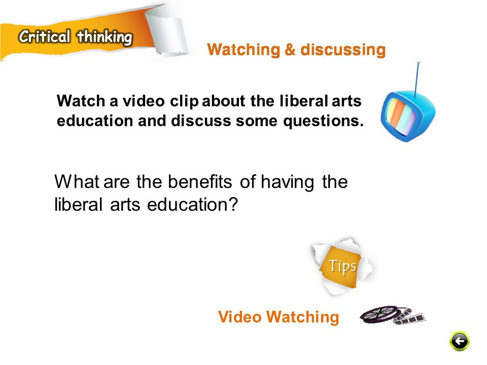 What are the benefits of having the liberal arts education.