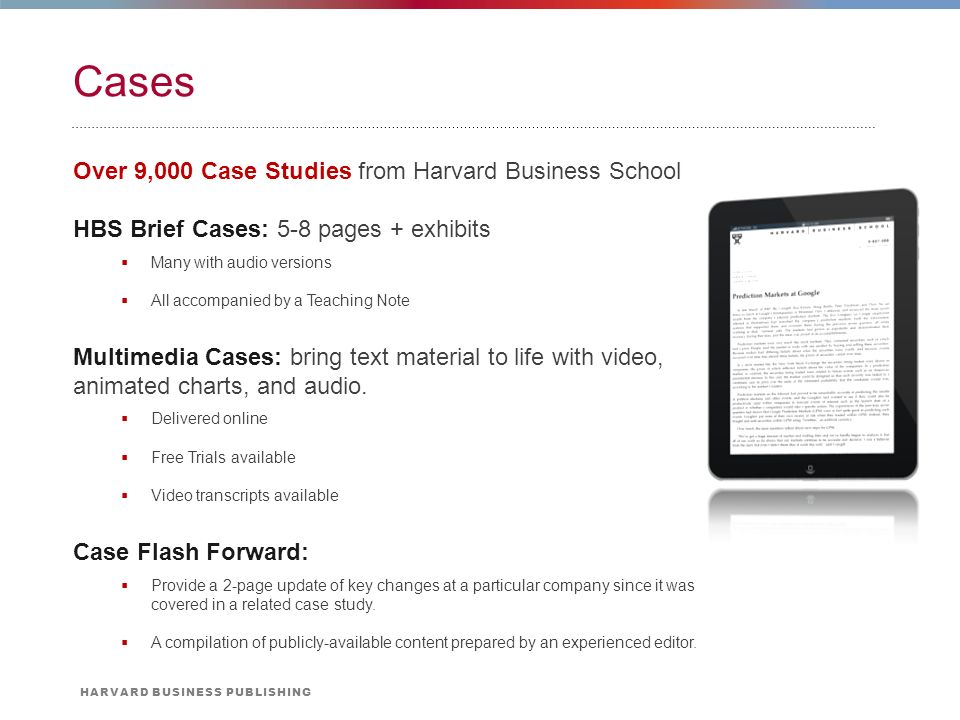Download hbs cases free.