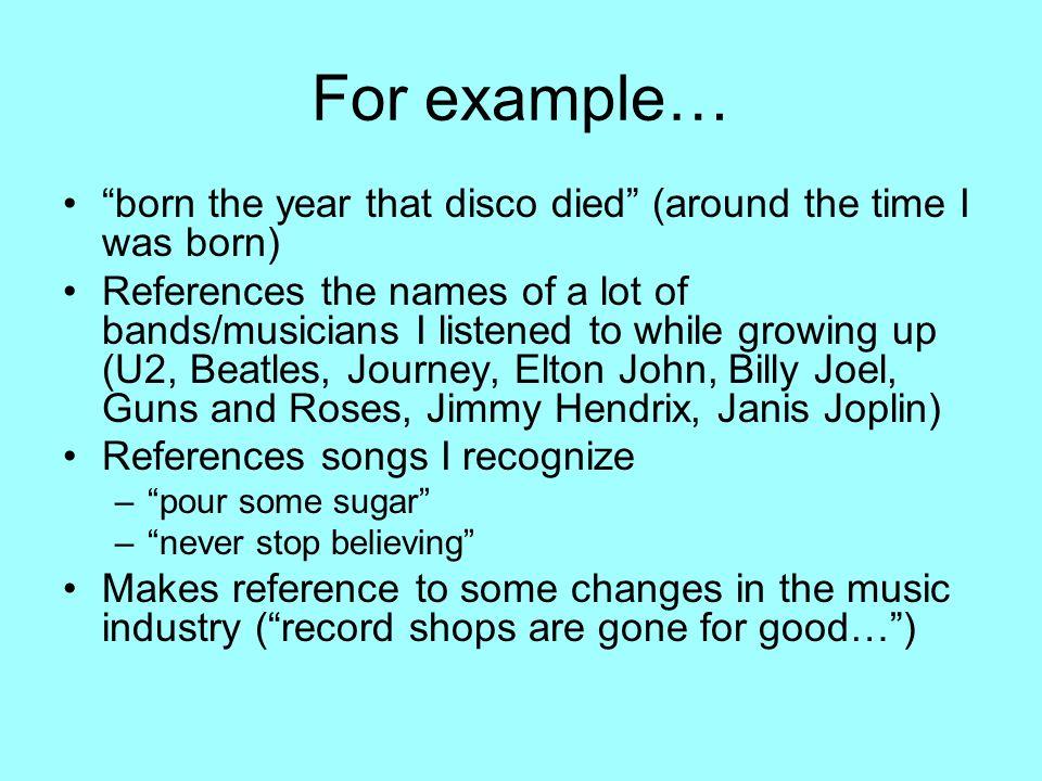 What Makes A Great Song? Tempo? Rhythm? Beat? Lyrics? Dynamics ...