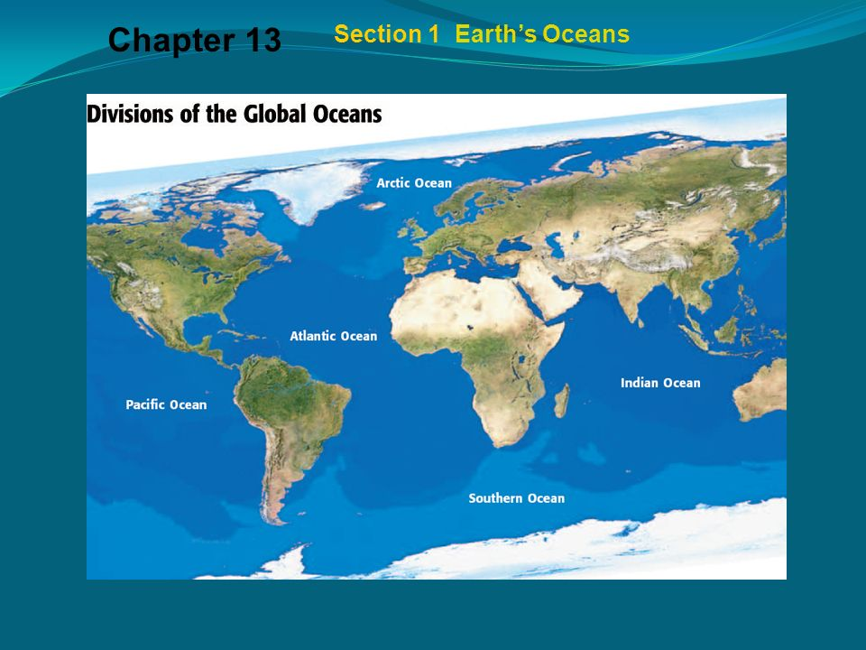Chapter Section Divisions Of The Global Ocean The Largest - Largest ocean