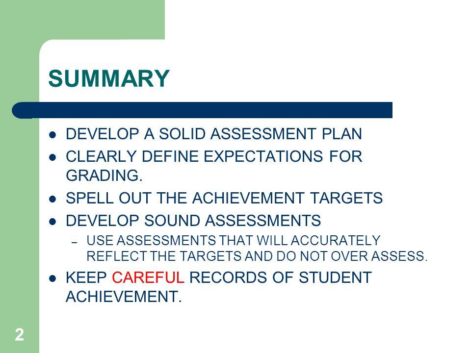 Kindergarten Assessment Book and Report Card
