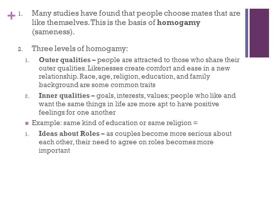 Homogamous Relationship Definition Essay - image 2