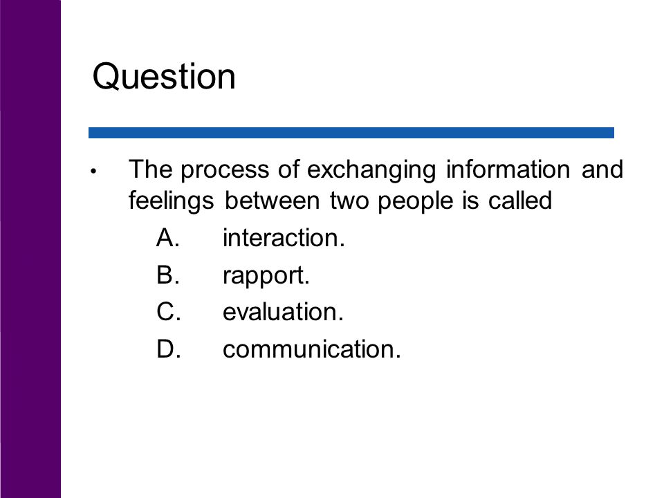 Chapter 9 Communication in Relationships. Chapter Outline The ...