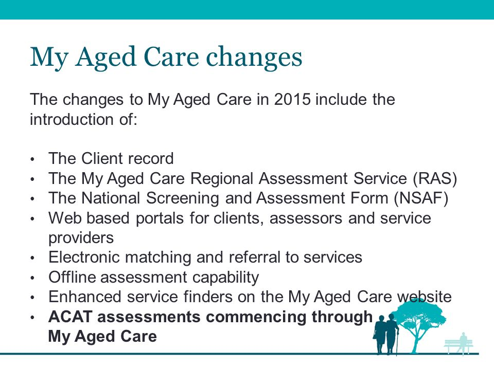 ACAT transition to using My Aged Care October ppt download