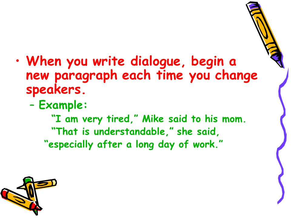 dialouge writing Dialogue (sometimes spelled dialog in american english) is a written or spoken conversational exchange between two or more people, and a literary and theatrical form that depicts such an exchange.