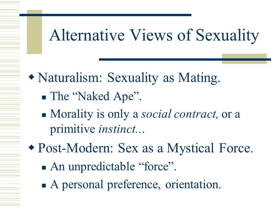 Understanding gods take on sex
