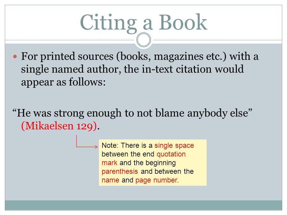 Textual citation