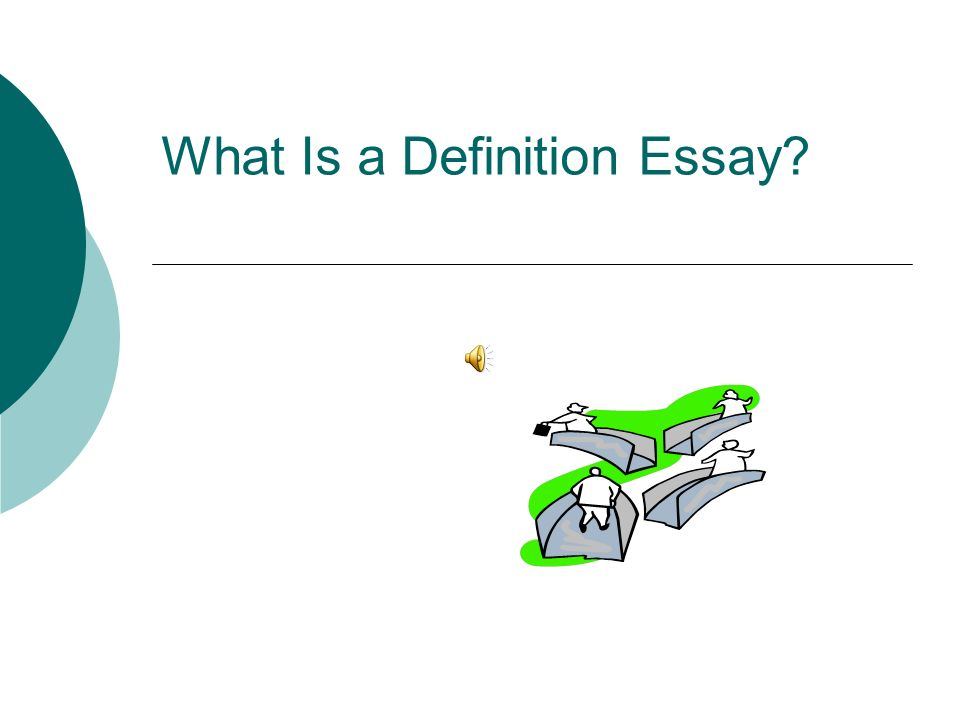 Help with essay on definition of a word?