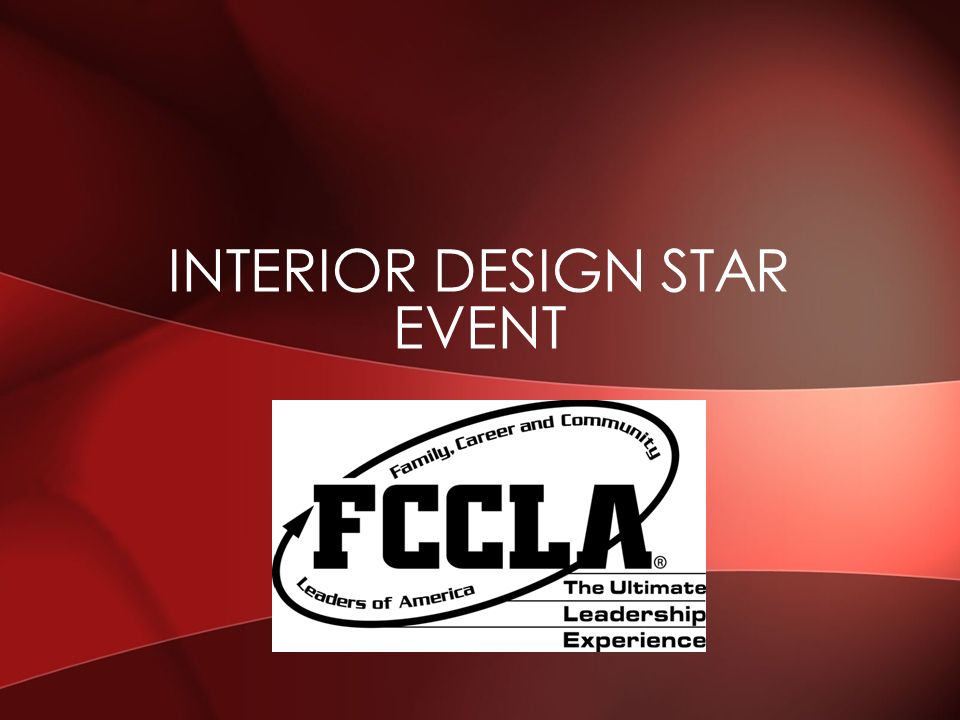1 INTERIOR DESIGN STAR EVENT