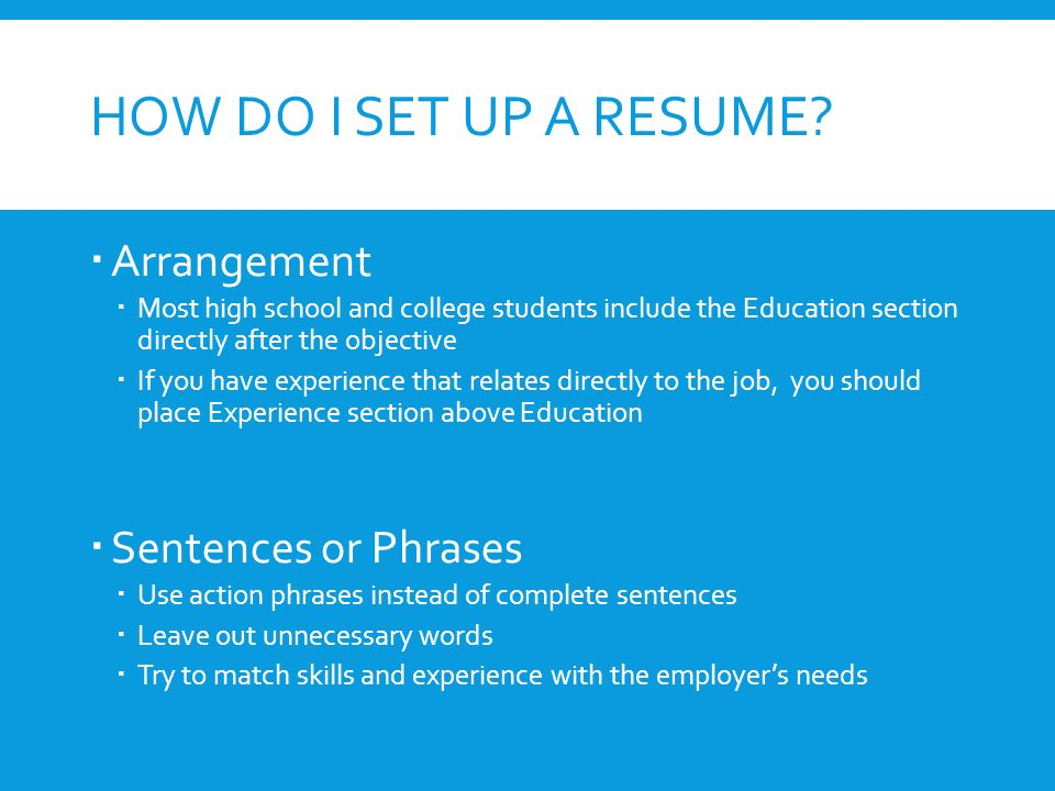 RESUME WRITING Creating An Effective Resume. WHAT IS A RESUME ...