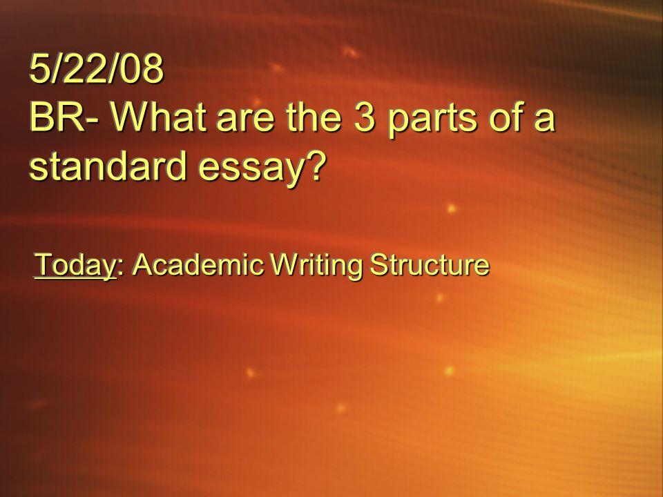 3 part of essay