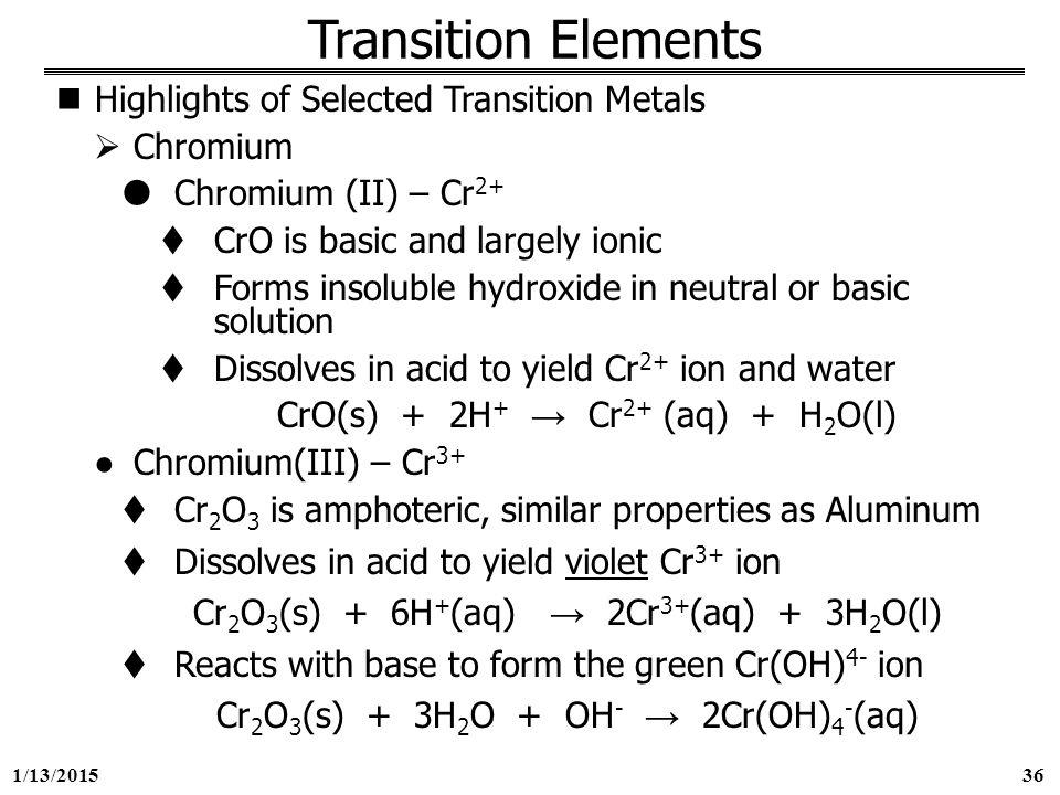 1/13/ George Mason University General Chemistry 212 Chapter 23 ...