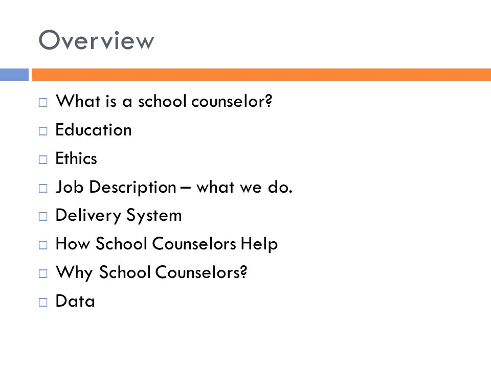 Your School) Comprehensive School Counseling Program Compiled By