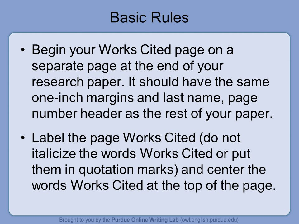free research papers with works cited Welcome to the workscited4u we provide free works cited formatting for mla, apa, and chicago formats explore it now.