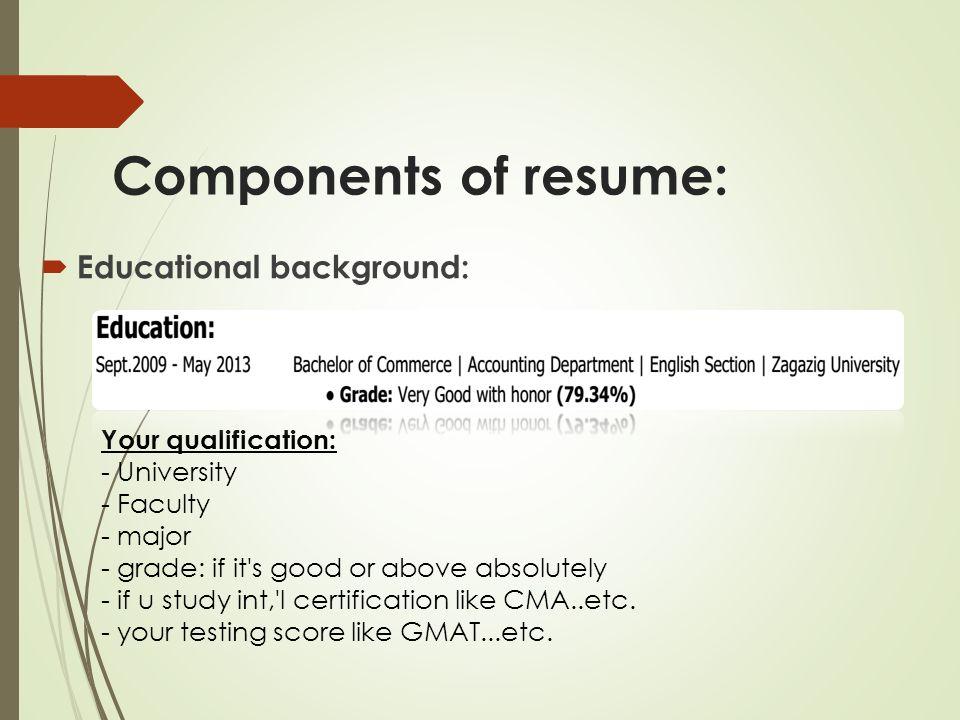 Write Me Education Resume