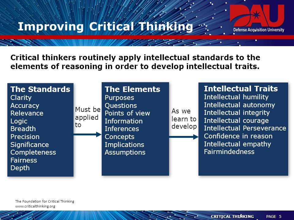 OPINION  Promote critical thinking skills for better democracy