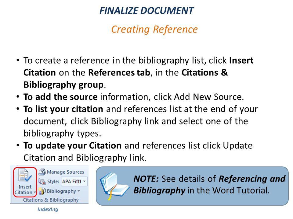 final documentation essay