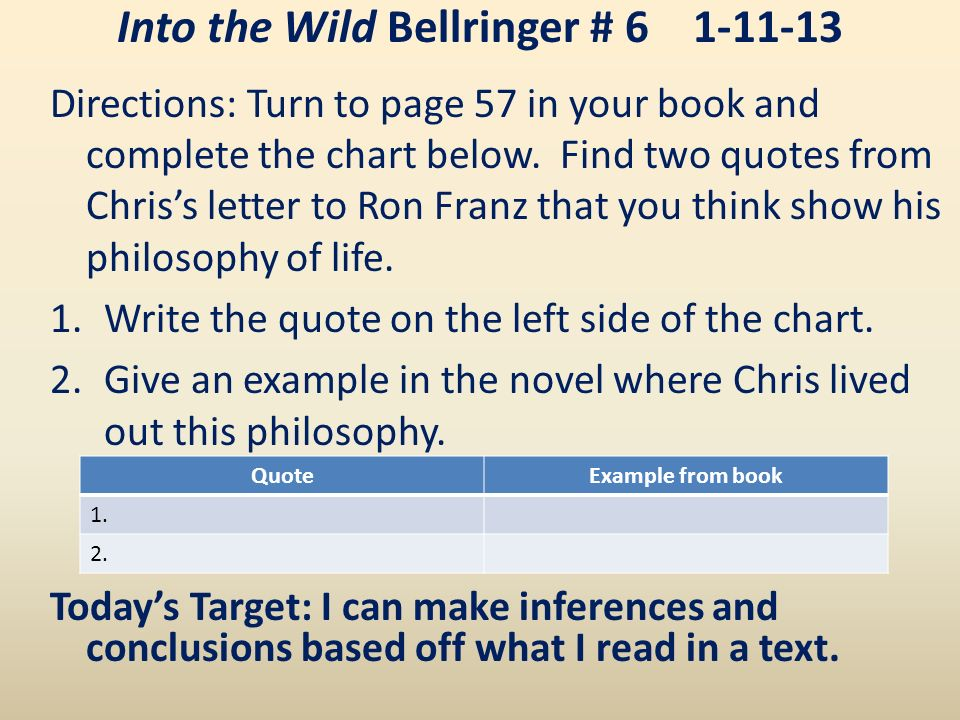 Into The Wild Book Quotes Delectable Into The Wild Bellringer  Why Is Jon Krakauer Fascinated With The