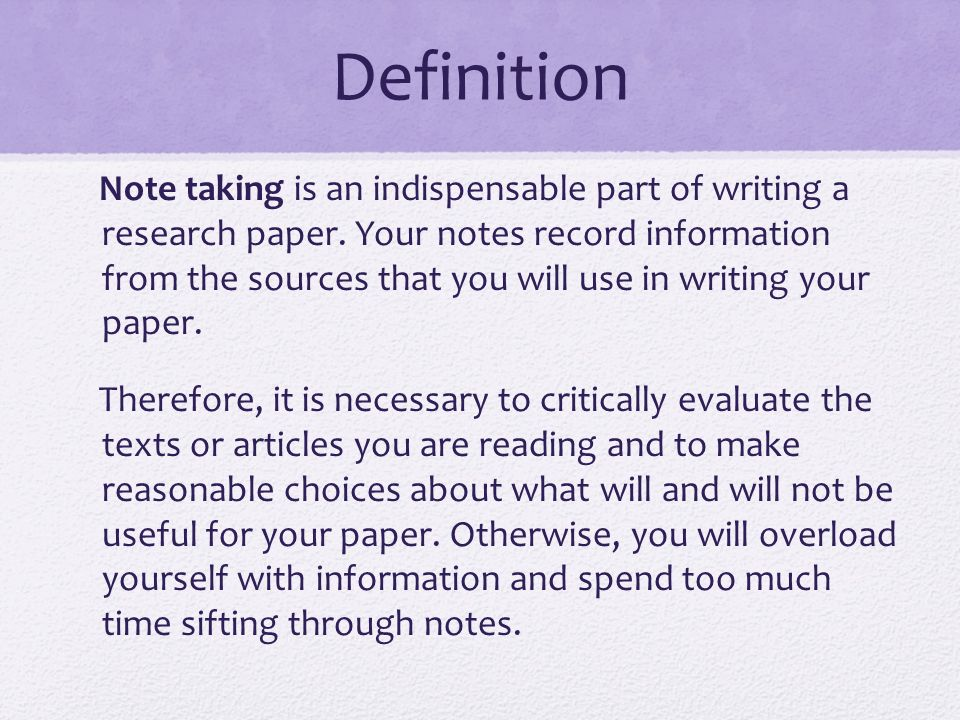 use of footnotes in research paper