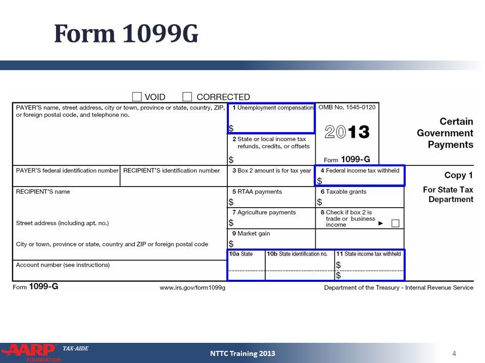 Tax Aide Unemployment Compensation Pub 4491 Page Ppt Download