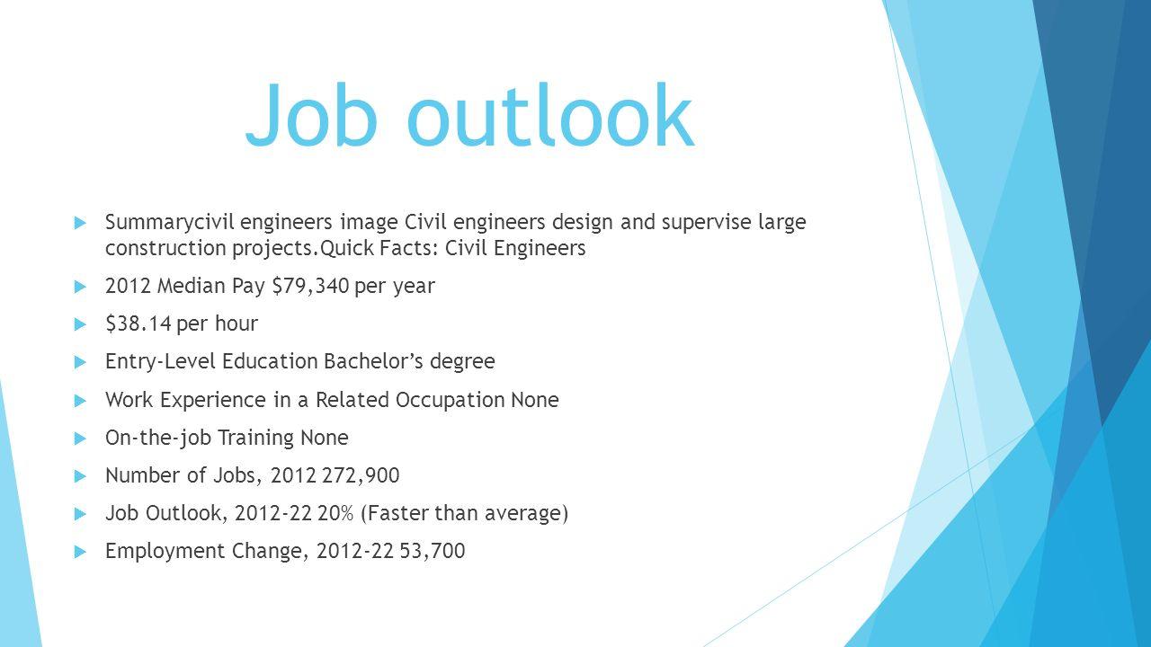 6 job outlook summarycivil engineers image civil - Civil Engineering Job Outlook