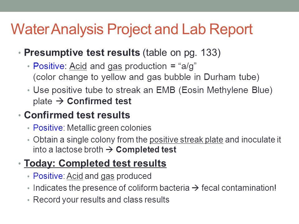 ph lab report