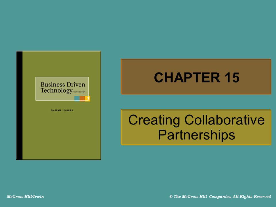 15-12 GROUPWARE SYSTEMS Groupware technologies