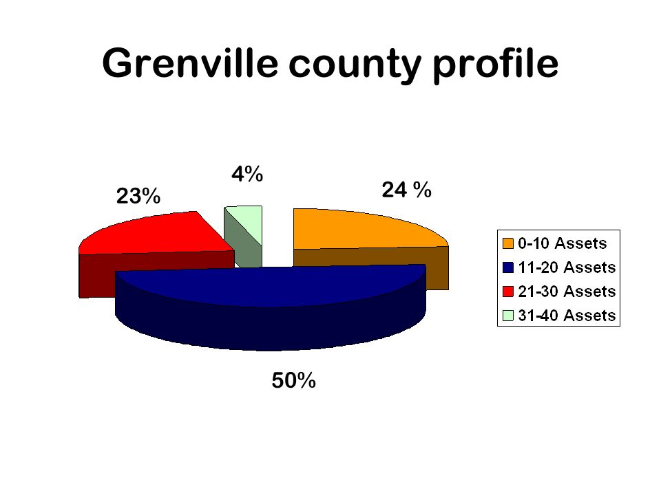 Grenville county profile 24 % 4% 23% 50%