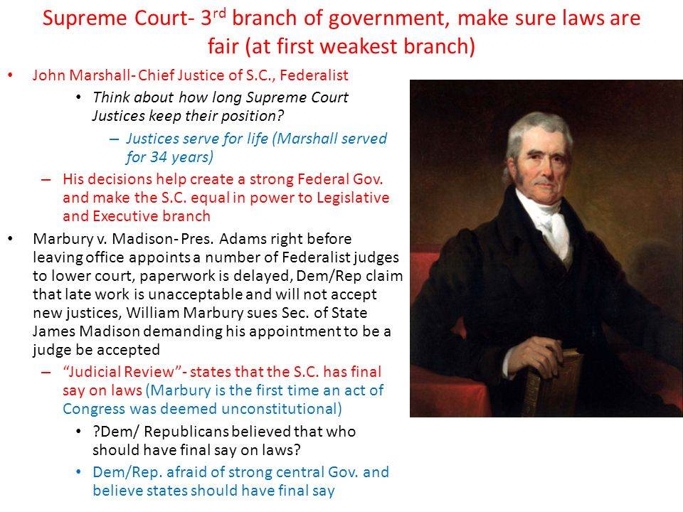 an analysis of the marbury v madison case in landmark cases of the us supreme court In the series of the landmark cases decided by supreme court, the first one is marbury v madison, 1803 it was a complicated case and the first where supreme court applied its power to judicial review.