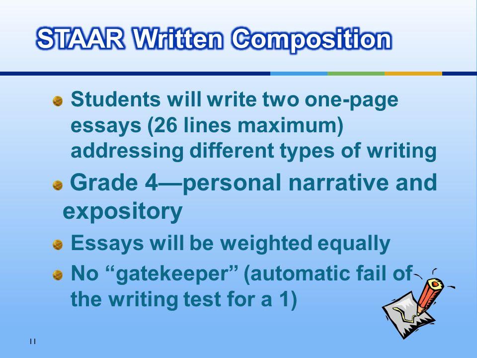 11 types of essay