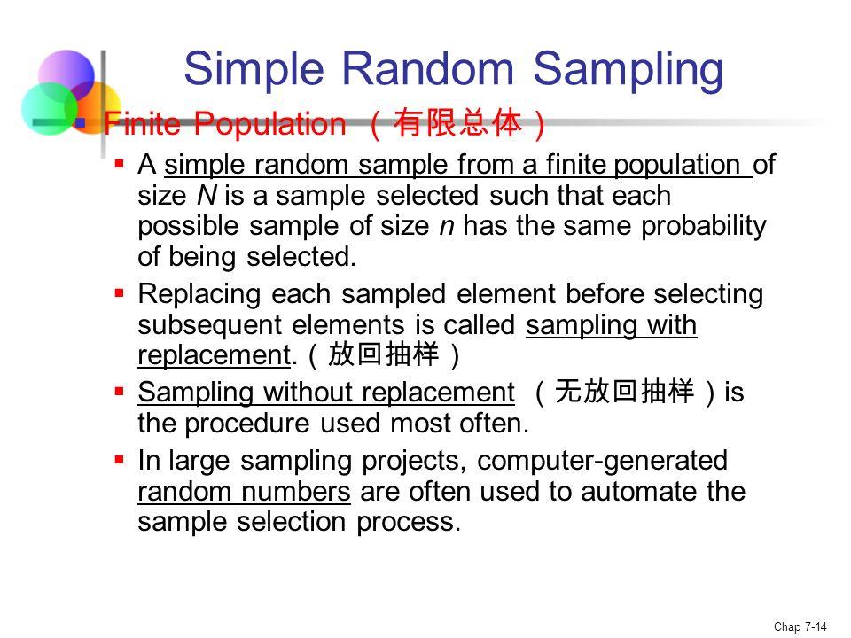 Chap 7-1 Chapter 7 Sampling and Sampling Distributions Statistics ...