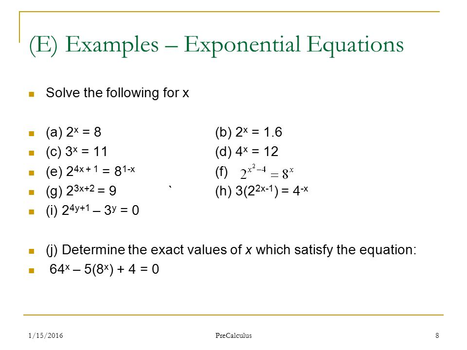 How To Solve Exponential Equations With E Jennarocca – Worksheet Solving Exponential Equations