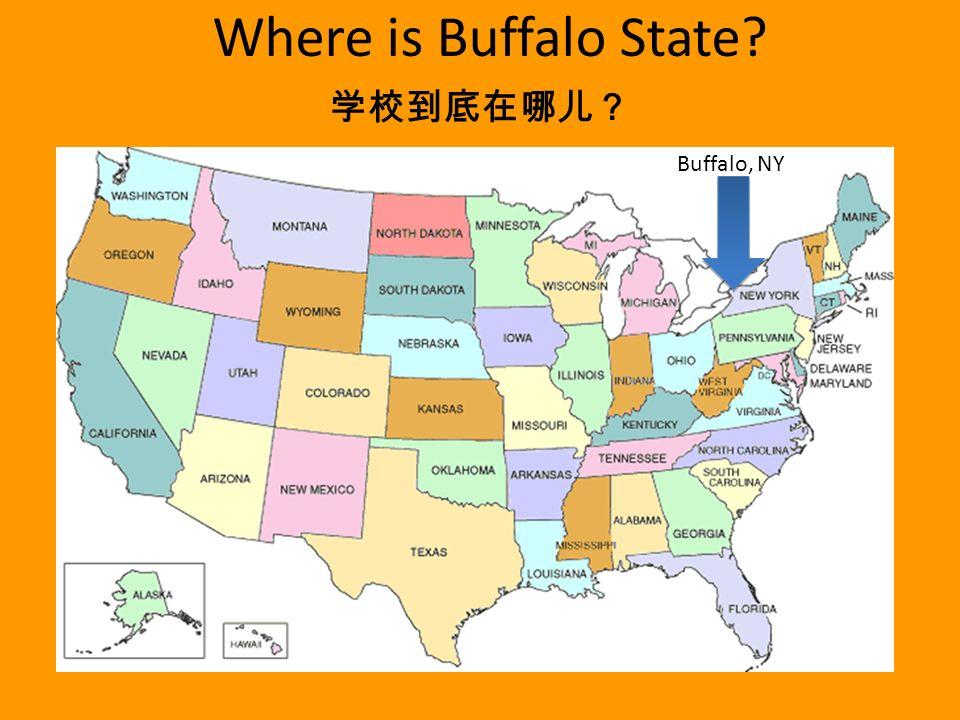 State University Of New York Buffalo State International - Where is buffalo