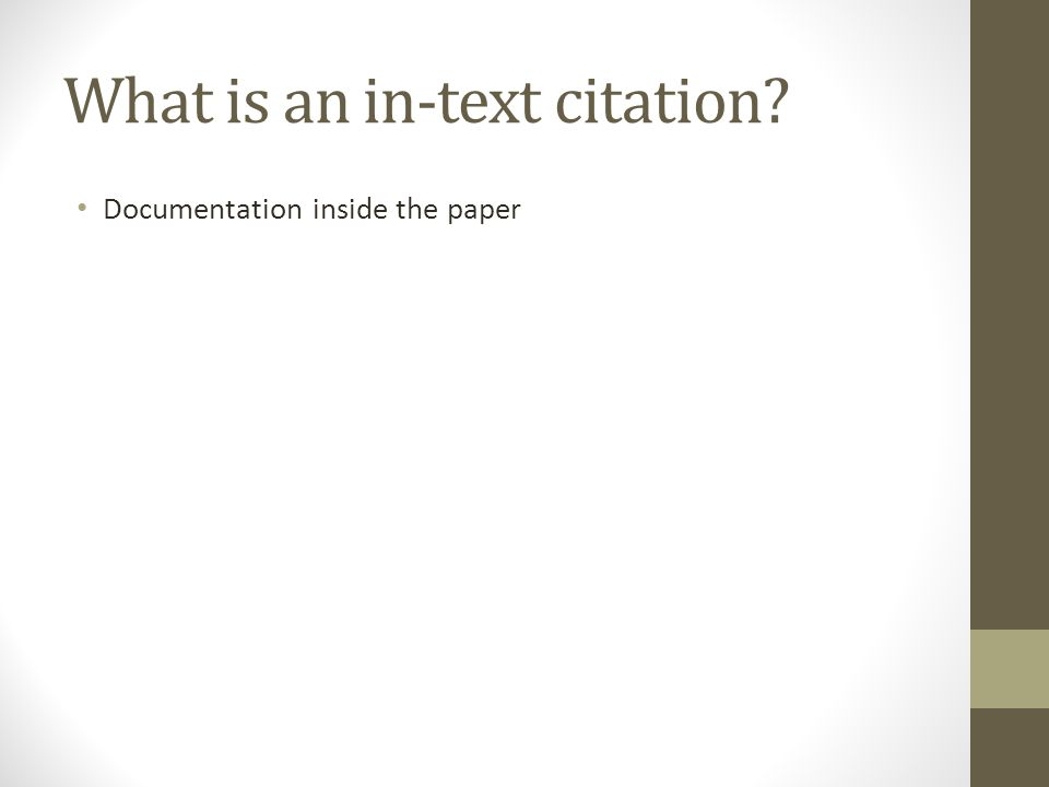 citations for term papers When to cite sources on research papers a huge faux-pas in the world of research papers is stealing someone else's ideas you need to give credit for your sources of information when you're writing your research paper.