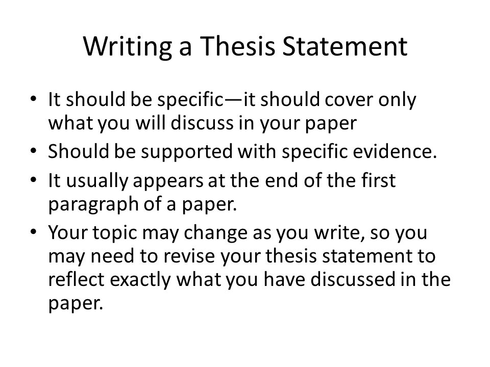 thesis statement on drugs Get an answer for 'what are suggestions for a thesis statement on the use of drugs in brave new world and society today as a means of control and escape' and find homework help for other brave new world, aldous huxley questions at enotes.