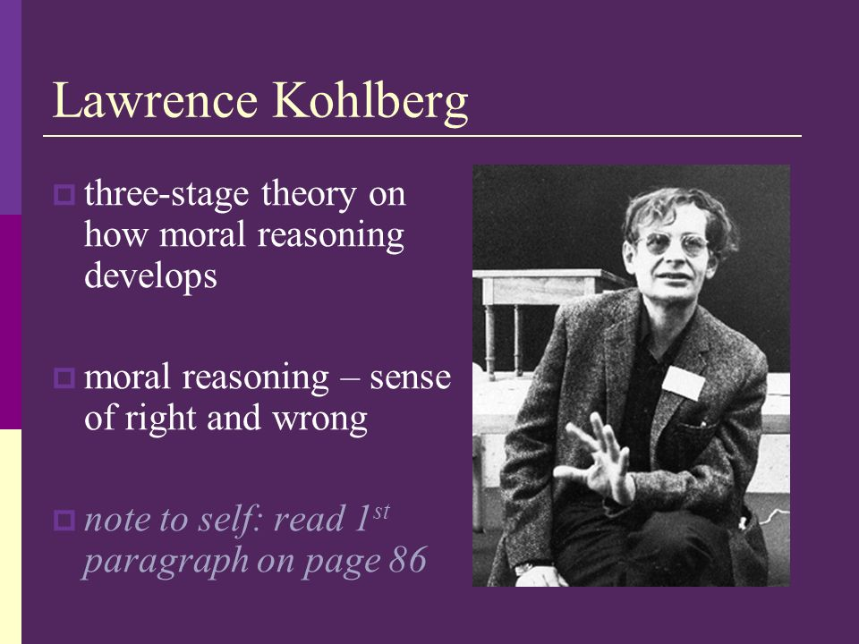 kohlberg essays moral development