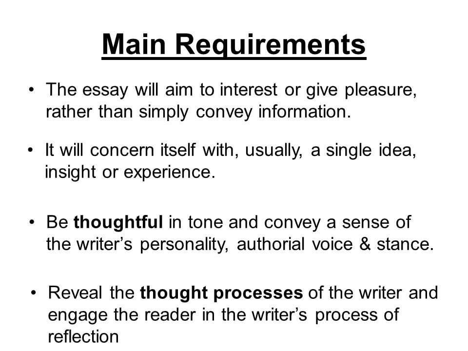 writing a thesis statement for a reflective essay While the body paragraphs of your essay provide the critical reflection and evidence, the thesis statement and introductory paragraph inform the reader of background content and the major points that the essay will address.