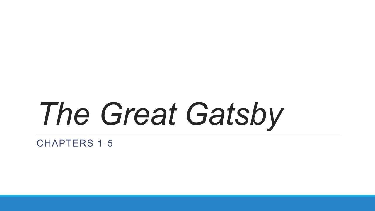 The great gatsby chapters 1 5 valley of ashes settingsymbol 1 the great gatsby chapters 1 5 biocorpaavc