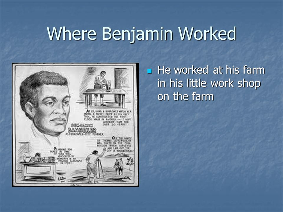banjamin banneker analysis Benjamin banneker was a self-taught free african-american who lived from 1731 to 1806 he advocated for racial equality, but was also interested in many scientific fields.