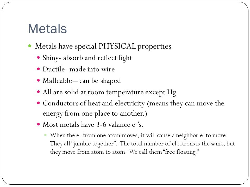 Please follow along on the worksheet I gave you Periodic Table – Physical Properties Worksheet