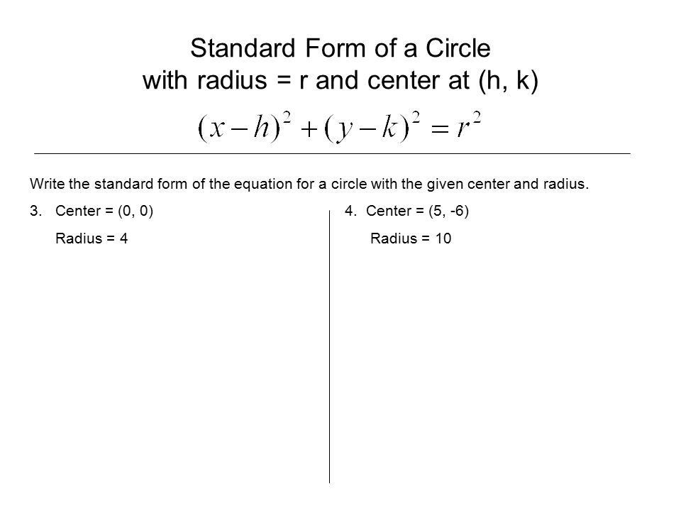 19 Distance Midpoint Formulas Circles Objectives Find The