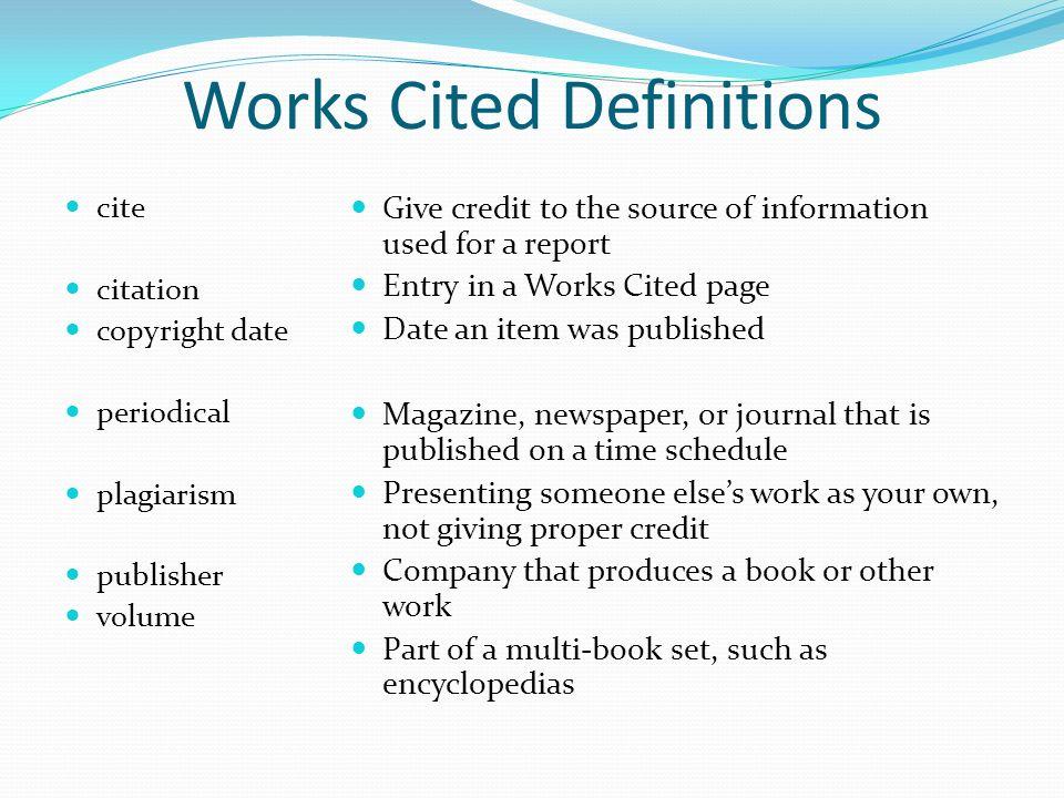 purpose research paper